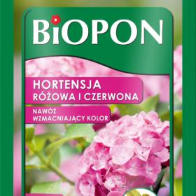Biopon gnojilo za rdeče in roza hortenzije